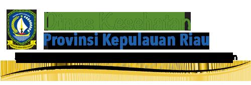 Website Dinas Kesehatan Provinsi Kepulauan Riau